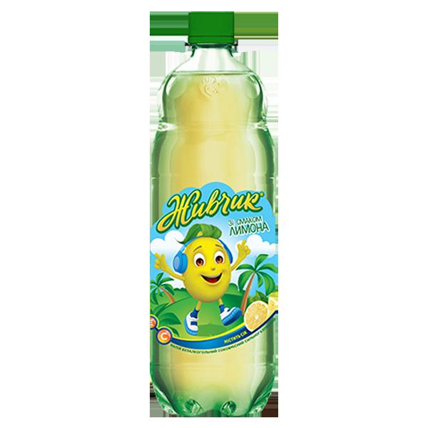 Живчик Лимон газированный PET 1 л