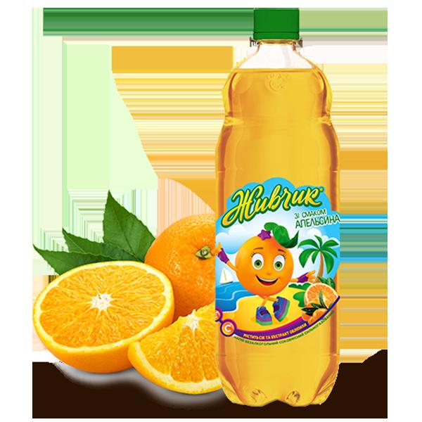 Живчик Апельсин PET  1 л
